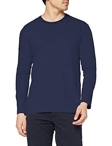 Stedman Apparel Comfort-T Long Sleeve/ST2130 T-Shirt, Bleu Marine, S Homme