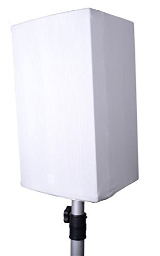 Expand Lautsprechercover, Lautsprecherhusse 12 Zoll Weiß - Lautsprecher Cover, Husse für Tontechnik - B1 - Stretch