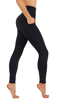 CodeFit Yoga Pants Power Flex Dry-Fit Mesh-Paneled In Both Side Leg, Exposed Back Zipper For STORING Full Length Leggings