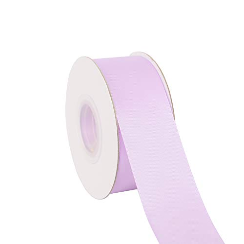 Ribbonitlux 1.5' Wide Double Face Satin Ribbon 25 Yards (430-Lavender), Set for Gift Wrapping, Party Decor, Sewing Applications, Wedding and Craft