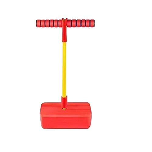 WENJIA Pogo Stick Bungee Jumper Pogo Stick para Niños,Duradero Y Antideslizante Saludable Y Divertido,para Niños De +3 Años Fácil De Saltar (Color : Red 2)