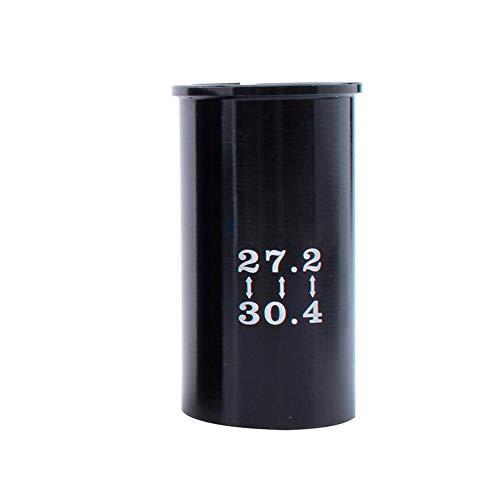 Reemplazo gotero Mensaje Tija de sillín Adaptador Reductor del Asiento Duradero de aleación de Wiggle Adaptador de Asiento de la Bici del Tubo del Asiento Manguito 27,2-28,6 Tipo