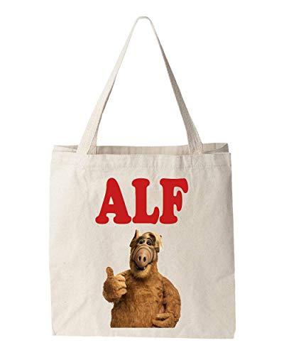 Sartamke Alf Portrait Tv Show Design Tragetasche