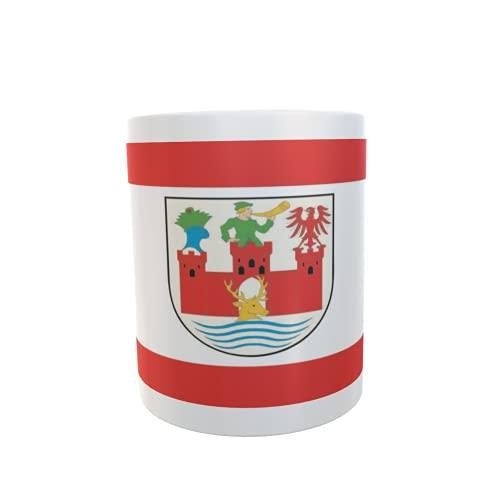 U24 Tasse Kaffeebecher Mug Cup Flagge Angermünde