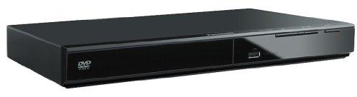 Panasonic DVD-S500EG-K Eleganter DVD-Player (Multiformat Wiedergabe mit xvid, MP3 und JPEG, USB 2.0) schwarz & Hama Scart-Verbindungskabel Stecker - Stecker, 1,5 m