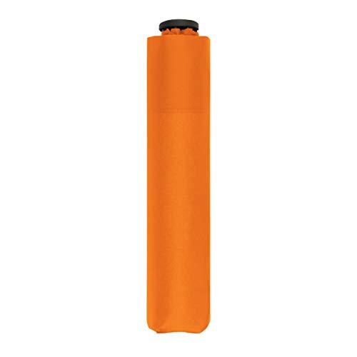 doppler Taschenschirm Zero,99 – Gewicht von nur 99 Gramm – Stabil – Windproof – 21 cm – Fruity Orange