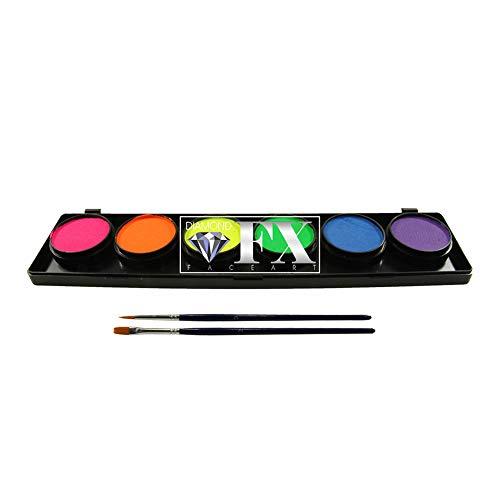 Diamond FX 6 palette de couleurs - néon (10 g)