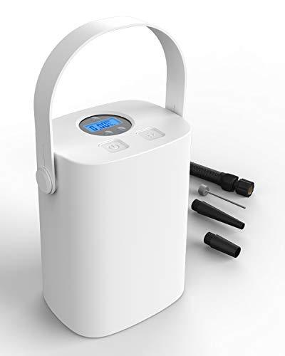 EASY EAGLE Compressore Aria Portatile per Auto, Pompa Elettrica Ricaricabile con Schermo LCD 150PSI 25L/Min