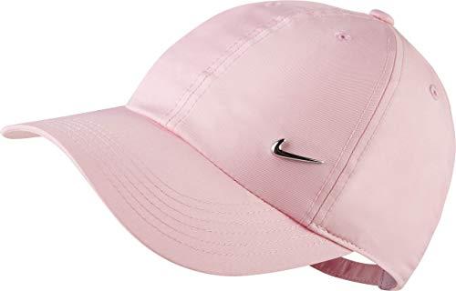 Nike Kinder H86 Metal Swoosh Kappe, Pink/Metallic Silver, Einheitsgröße
