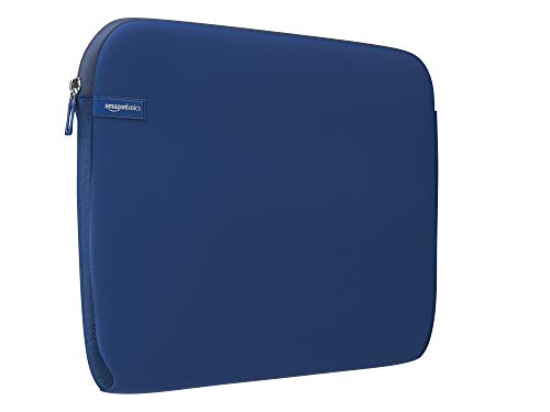 Amazon Basics 15-Inch to 15.6-Inch Laptop Sleeve - Navy