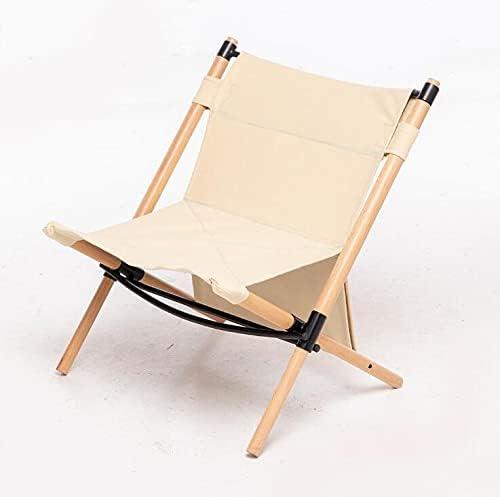 WLJX Beach Chair Outdoor Ranking Omaha Mall TOP1 Portable Light Ca Wooden Folding Ultra