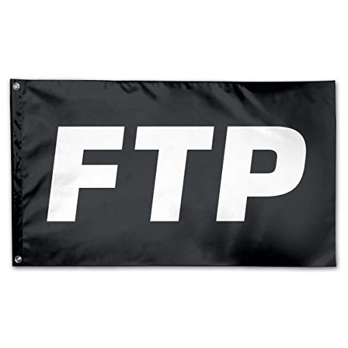 Jsvnoid Jlvdfm FTP Logo 3 X 5 Foot Outdoor Decorative Yard Flag Home Garden Flag