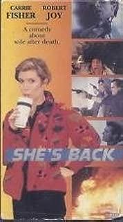 She's Back VHS