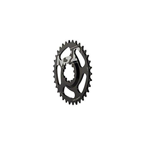 NSB CR3405-B Zahnplatte, Unisex, Erwachsene, Schwarz