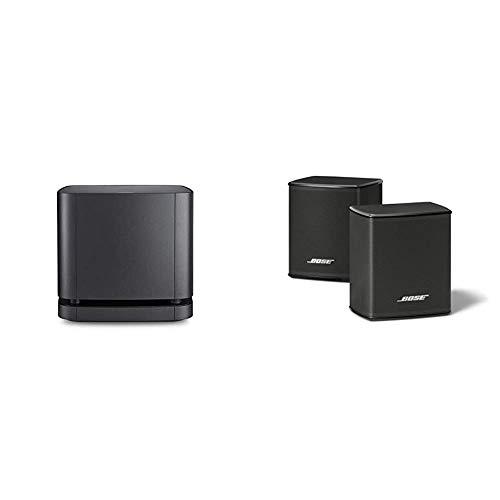 Bose - Bass Module 500, inalámbrico, Negro + Surround Speakers, Negro