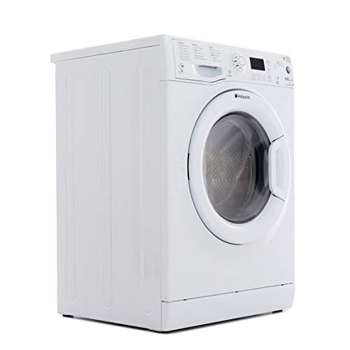 Hotpoint WDPG8640P Washer Dryer Aquaris 1400 Spin 8kg Polar White
