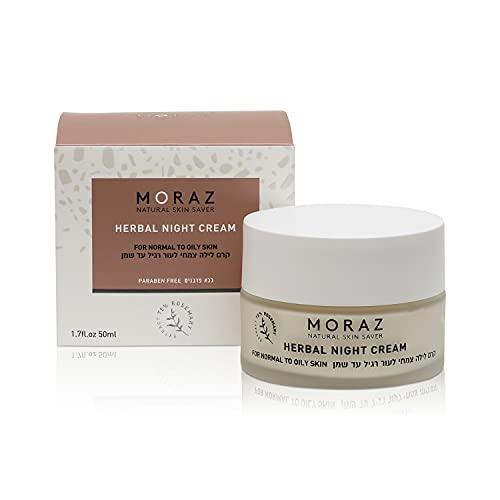 Moraz Crème de Jour pour Peau Normale/Grasse à Base de Grenade/Polygonum