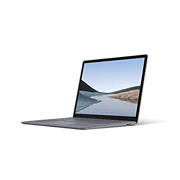 "Microsoft VEF-00001 Surface Laptop 3  13.5"" Touch-Screen  Intel Core i7 - 16GB Memory - 256GB Solid State Drive Platinum with Alcantara"
