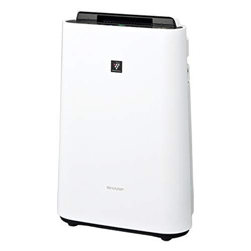 シャープ 空気清浄機【加湿機能付】(空清23畳まで/加湿15畳まで ホワイト系) KC-L50-W