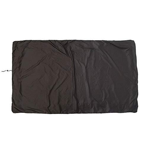 Dengofng - Funda para mesa de billar, impermeable, tela Oxford para billar (245 x 140 x 20 cm), No nulo, negro, Tamaño lib