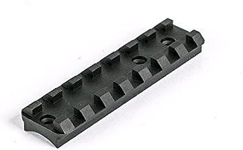 MSP Ruger Mark I, II, III & IV See-Through Scope Mount Base - Picatinny (Black)