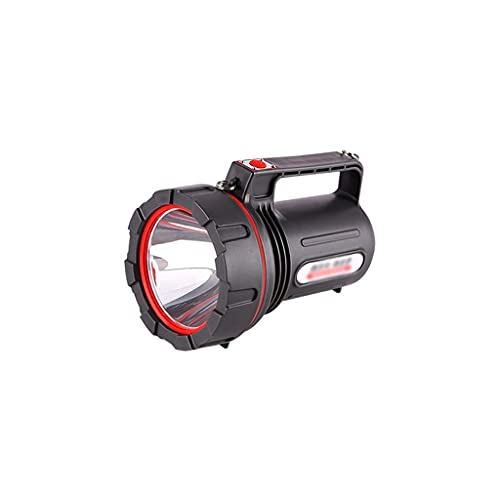 QZH Lámpara de iluminación, Linterna táctica Linterna LED Linterna Recargable para emergencias Hogar Acampar al Aire Libre Senderismo Linterna al Aire Libre (A)