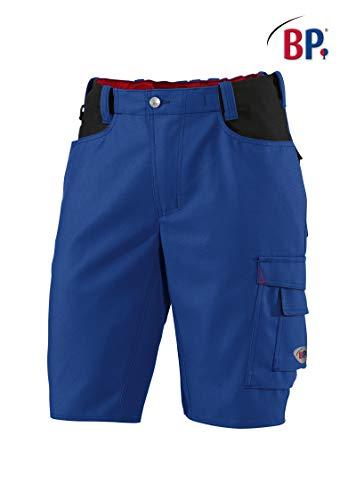 BP 1792-555-13-46n Shorts, mit Doppelknopfverschluss, 295,00 g/m² Stoffmischung, königsblau/schwarz, 46n