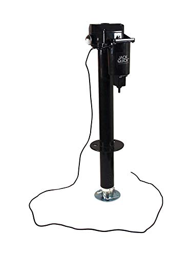 Quick Products JQ-3000 Power A-Frame Electric Tongue Jack - 3,250 lbs. Lift Capacity