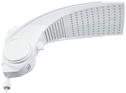 Duo Shower Quadra Turbo Multitemperaturas 220V 6800W, Lorenzetti, 7511044, Branco, Pequeno