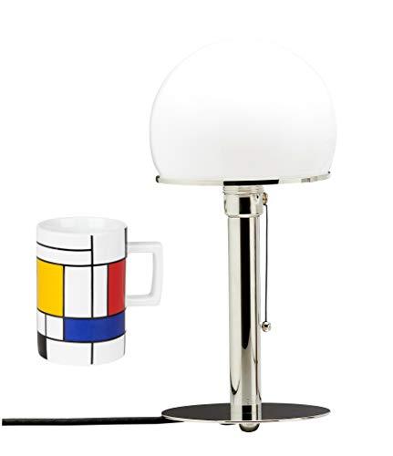 Tecnolumen Wagenfeld Bauhaus Lampe Tischleuchte Leuchte WA 24 | bauhaus | lamp design | |...