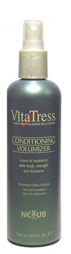 Nexxus VitaTress Revitalizing Solutions Conditioning Volumizer, Leave in Treatment 10.1 Ounces