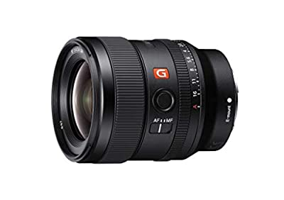 Sony E-mount FE 24mm F1.4 GM Full Frame Wide-angle Prime Lens (SEL24F14GM), Black from Sony Electronics, Inc.