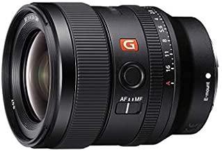 Sony E-mount FE 24mm F1.4 GM Full Frame Wide-angle Prime Lens (SEL24F14GM), Black