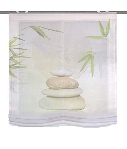 Home Fashion Benessa - Panel japonés (poliéster, 140 x 100 cm), Color Beige