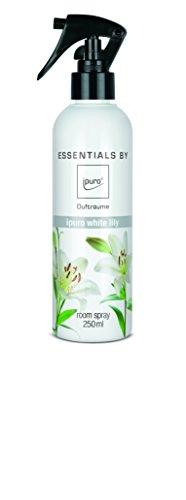 ipuro ESSENTIALS Raumspray white lily, 1er Pack (1 x 250 ml)