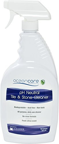 Oceancare Products pH Neutral Tile & Stone Cleaner - Quart Trigger Spray Ready to Use