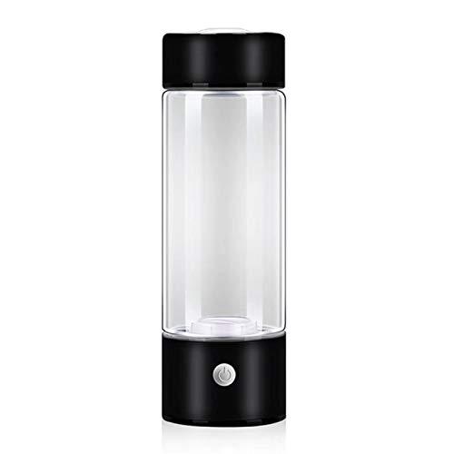 400 ml 3 minutos agua rica en hidrógeno taza Lonizer alcalino fabricante recargable Super antioxidantes botella de hidrógeno botellas