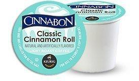 Cinnabon Classic Cinnamon Roll Coffee 96 K Cups for Keurig Brewers