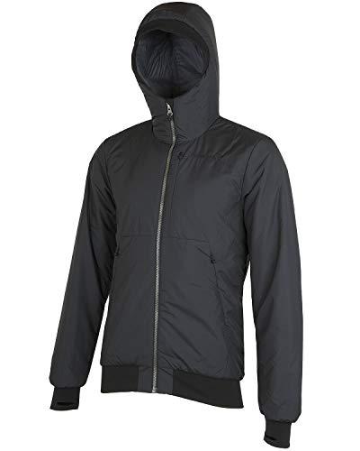 Norrona M Roldal Insulated Hood Jacket Schwarz, Herren Primaloft Isolationsjacke, Größe M - Farbe Caviar