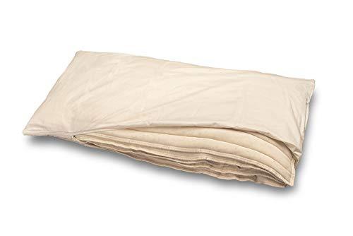 Baumberger Almohada algodón y Lino Almohada 45 x 40 cm