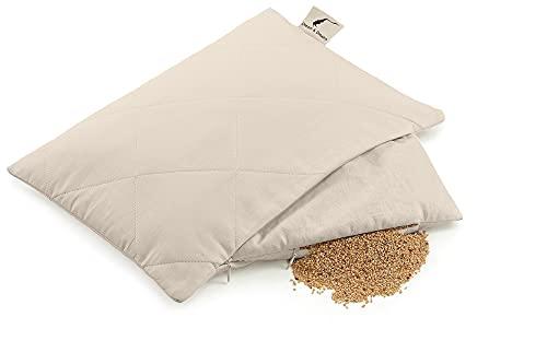 Oreiller cervical à la balle de Millet BIO | Oreiller bio naturel | Dream & Dreams 40 x 60 cm