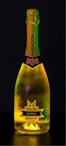 ROGANTE - Bottiglia 0,75 l Luminosa Rogante Giallo - Aperitivo Spumante Fruttato PASSION FRUIT Idea Regalo