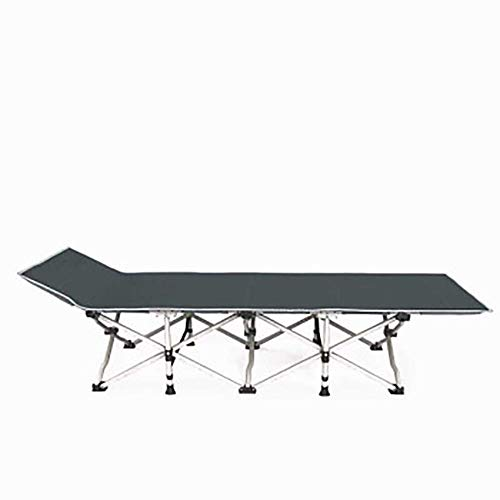CVMFE Folding camping bed, adult and child recliner, portable camping bed, outdoor garden indoor camping bed, beach folding bed