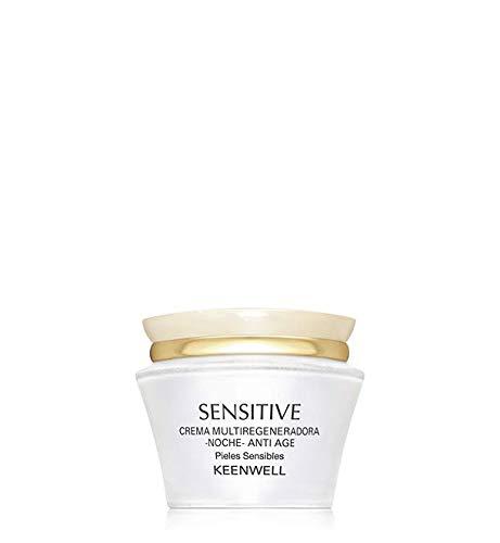 KEENWELL Sensitive Anti-AGEING MULTIREGENERATIVE Nachtcreme, 50 ml, Schwarz, Standard