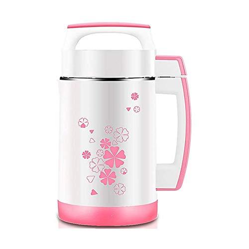 LKNJLL Fabricante de soymilk de Acero Inoxidable Multifuncional 2L, 2 l