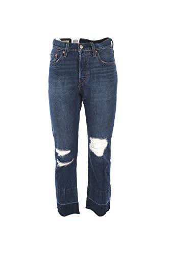 Levi's Vintage Clothing - 501 Cropped Jeans Bottom Line