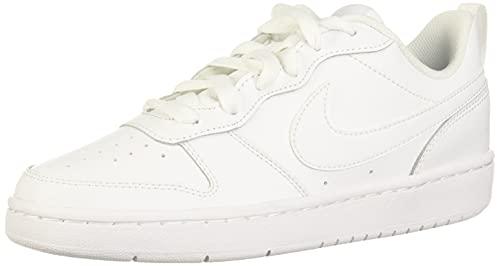 Nike Court Borough Low 2 (GS), Sneaker, Bianco, 35.5 EU