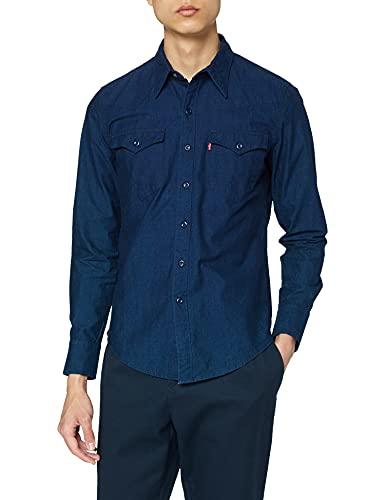 Levi's Herren Barstow Western Freizeithemd, Blau (C32416 Fenugreek Indigo Pattern MT_SD162702 178), Small