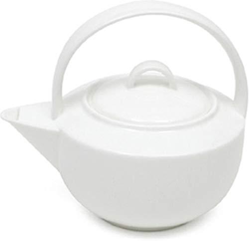 Maxwell & Williams BC1901 Teekanne Porcelaine, weiß, 11,4 x 35,6 x 55,2 cm