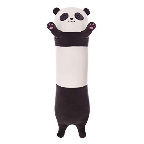 Aslion Plush Toy, Cute Plush Panda Doll Soft Stuffed Animal Throw Pillow Doll Toy Gift for Kids Girlfriend (Panda, 90cm)